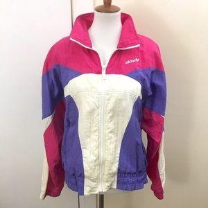 Vintage Adidas Windbreaker Jacket Trefoil